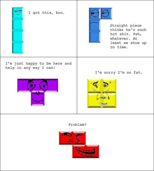 Trollface - Tetris