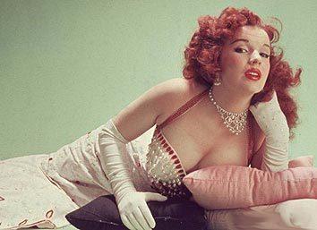 vigorton2:  Happy Birthday to Blaze Starr! Born January 1, 1932 as Fannie Belle Fleming in Wilsondale, West Virginia.