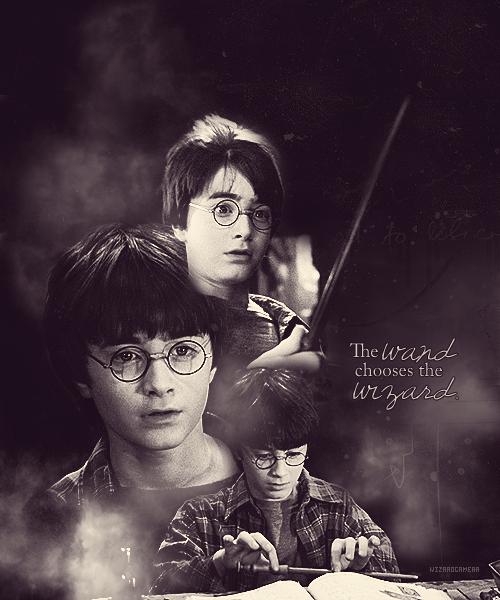 wizardcamera: 50 Greatest Harry Potter Moments (ITV)24/50Philosopher's StoneHarry Gets His Wand