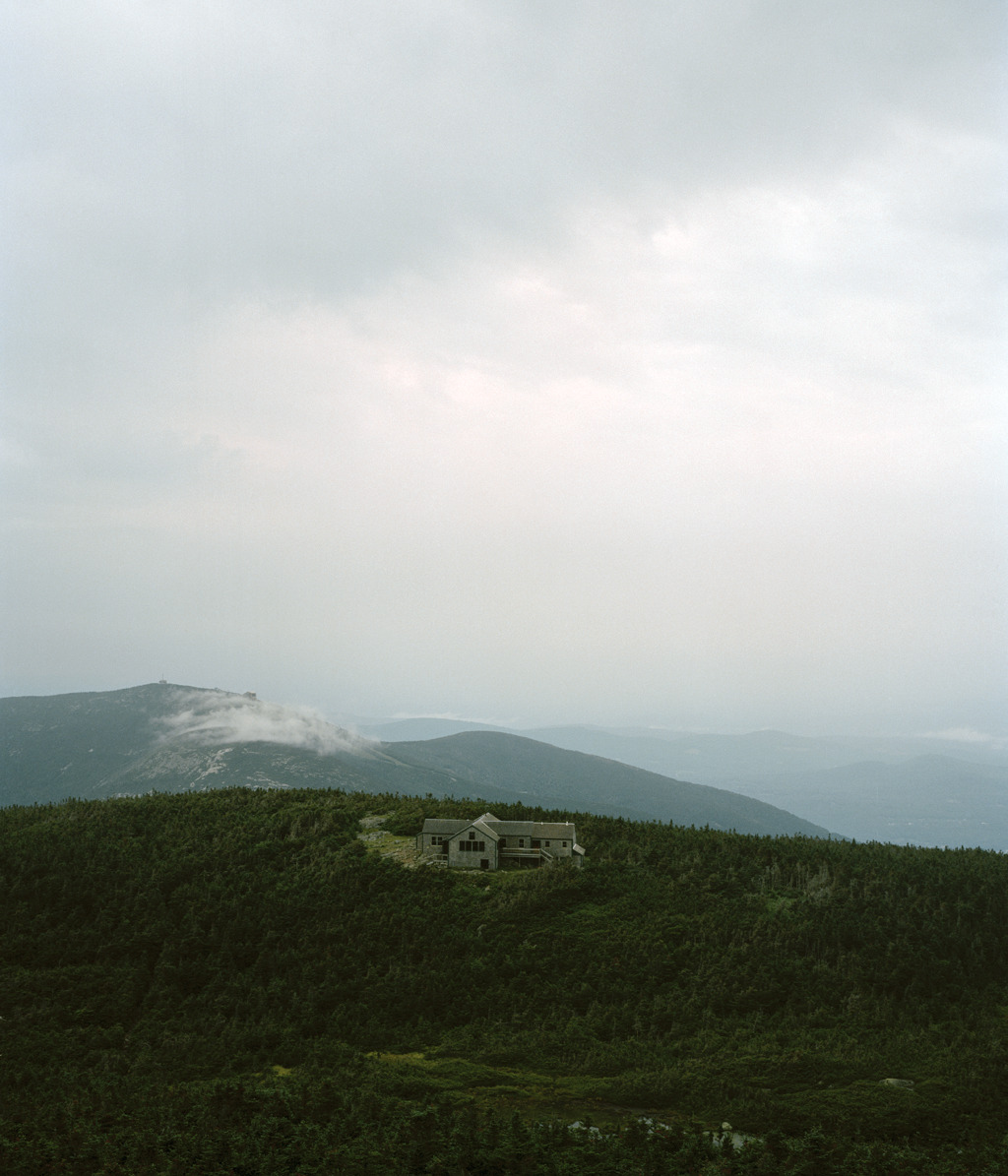 Appalachian Mountain Club'sGreenleaf Hut in theWhite Mountains of New Hampshire.<br /><br /><br /><br /> Photograph by Ryan Shorosky.