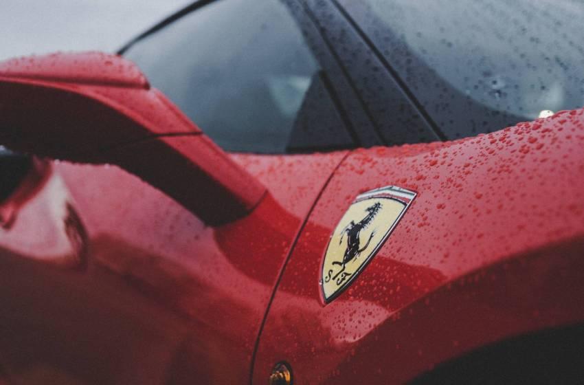 The Ferrari Portofino in all its beauty.