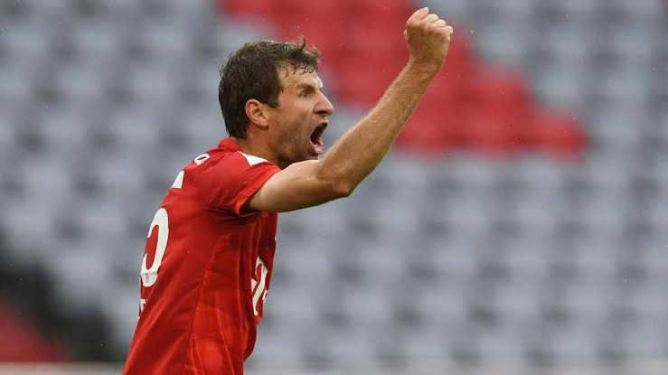 Muller becomes most decorated player in German history