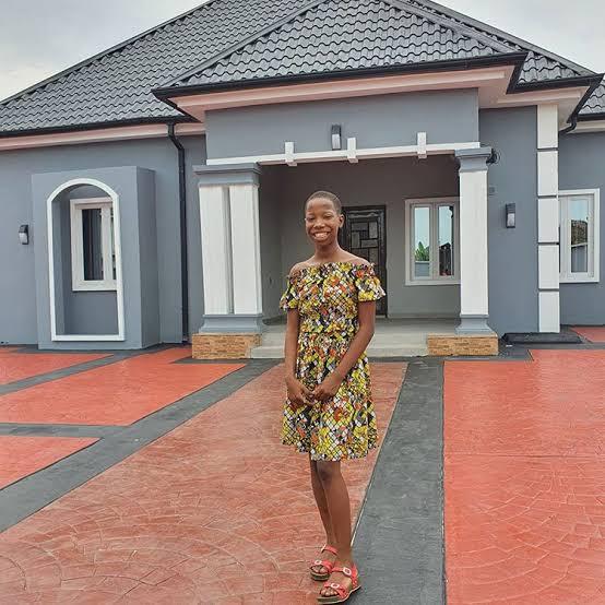 Popular Child Comedian Emmanuella reveals details on how she built her mother a house.