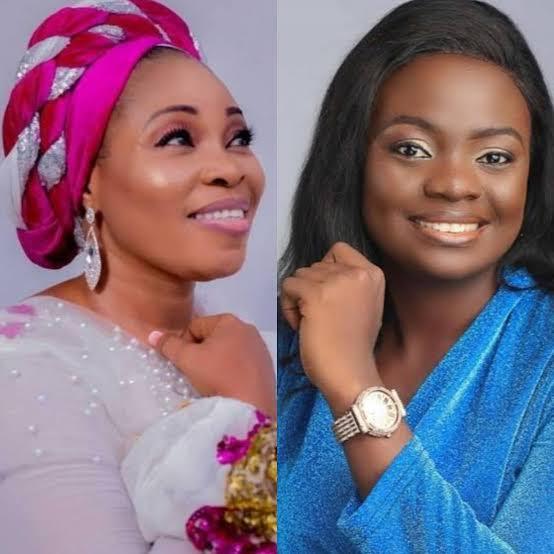Moment when Tope Alabi criticised Adeyinka Alaseyori Oniduro Song.(Video)