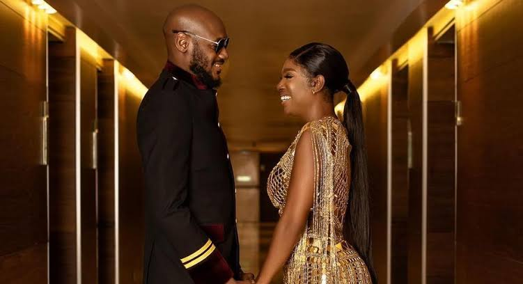 Couple goals: Annie Idibia makes 2baba blush hard as she rained sweet compliments on him.