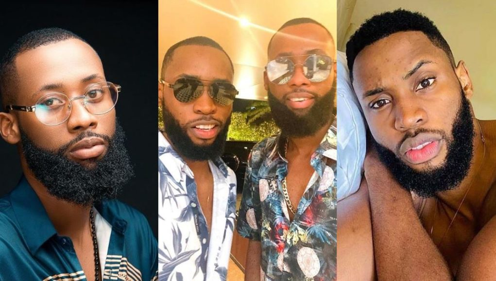 Reactions as Tochi Shares Photo of Himself With New BBNaija Housemate, Emmanuel