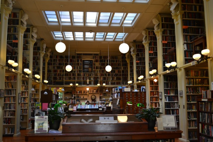 Providence Athenaeum, the most beautiful library I've ever seen