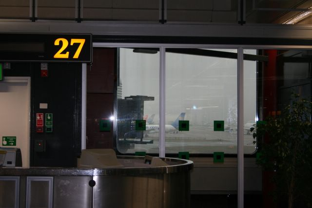 Departing from Gate 27?