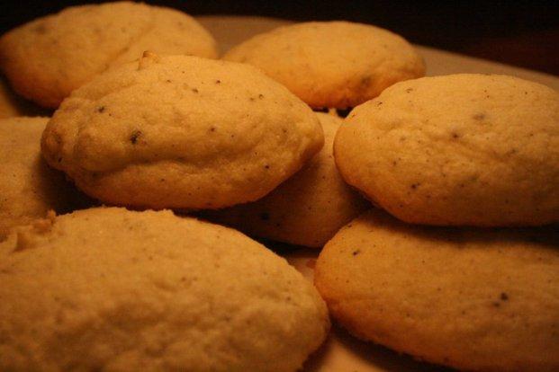 gluten free rice flour vanilla cookies