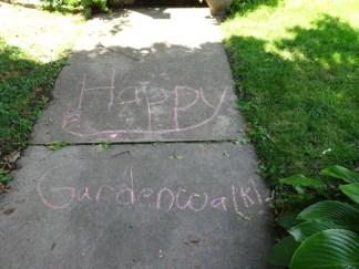 Sidewalk smiles