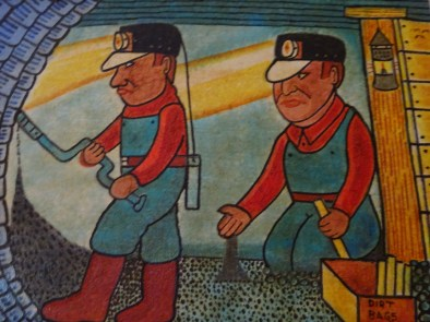 Jack Savitsky Coal Miner faces