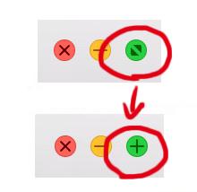 フォルダ「緑ボタン」でフルスクリーンにしない方法 | Macのお医者さん011