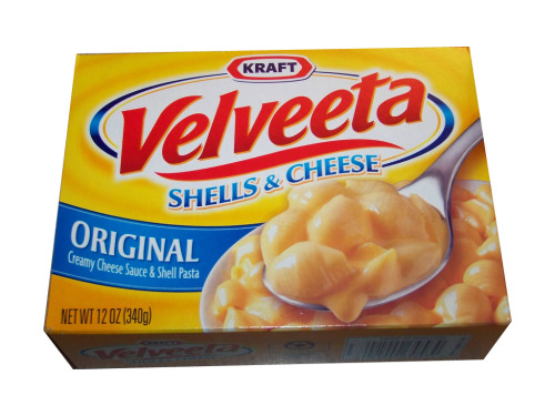 Damn you velveeta shells and cheese! Last night I got home and at a whole box of you… with a hot dog chopped up top.Why must you taste so damn good?