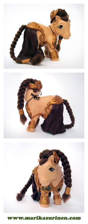 Star Wars My Little Pony - Leia