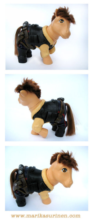 My Little Han Solo                            by *Spippo
