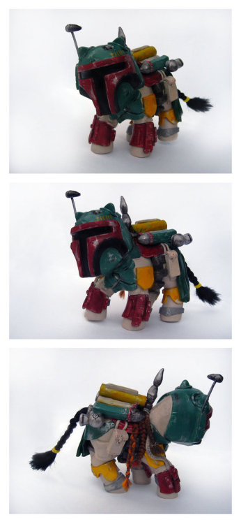 My Little Boba Fett by *Spippo