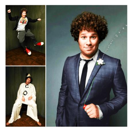 Seth Rogen GQ Suit