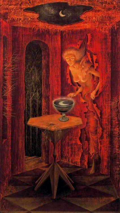 Nacer de Nuevo (Born Again) by Remedios Varo.