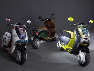 Mini creates retro-style electric scooter for the modern-day mod