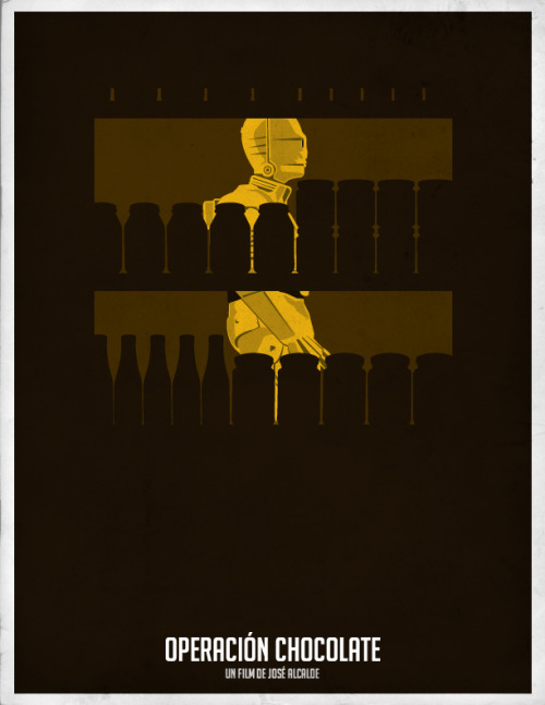 Operación Chocolate - Minimal Movie Poster #cinevenezolano