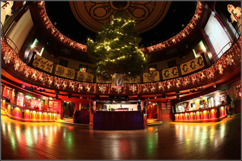 A few years on I was invited to do more photos for the Empire's interior. Looks great with all the xmas decorations!  Always happy to do interior shots, be it houses or clubs!