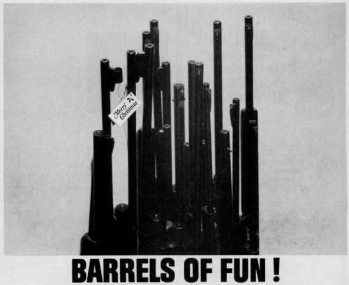 Barrels of Fun!