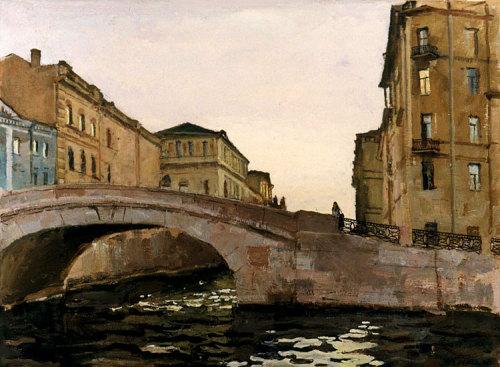 Moyka River<br />1987<br />Victor Lyapkalo