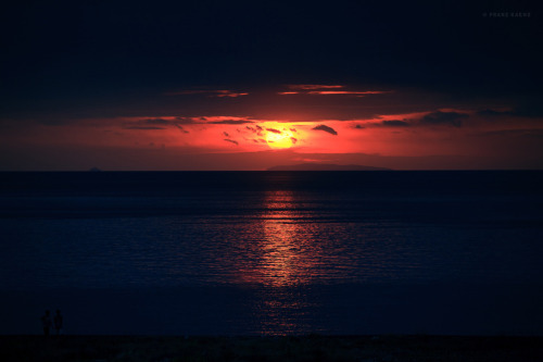 image of sunset in the Philippines