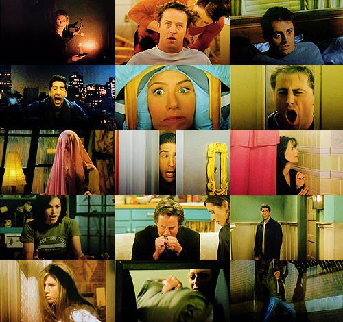 tousdesanges:  GENRE SWAP: Friends as a psychological thriller/horror.