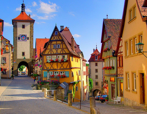 sunsurfer: Scenic Village, Rothenburg, Germany photo by Jen Pinker