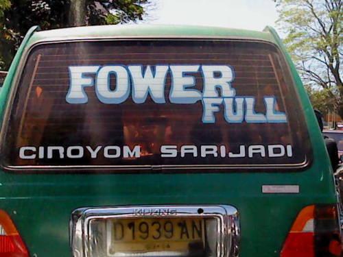 Fower Full??? dari @nunusaurus