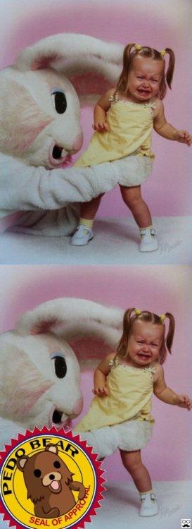 El lindo conejillo de Pascua que tanto gusta a los niños