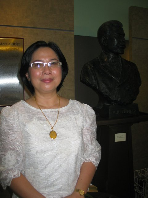Chit Estella (Photo by VERA Files oh which she was a trustee)