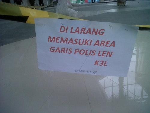 Polis Len? Bener Ga? - dari @ihsannurhadi