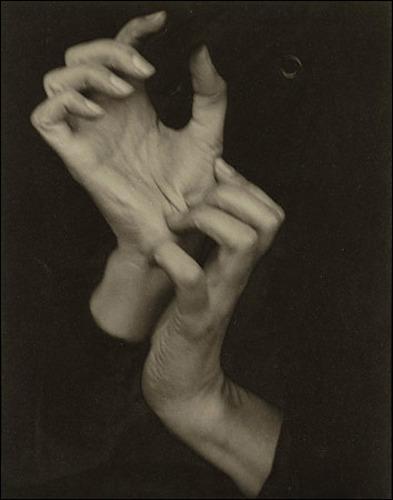 Stieglitz, Georgia O'Keefe's Hands, 1918