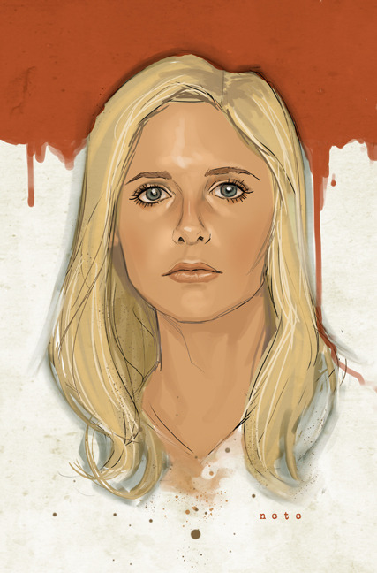 """Buffy"" - Let me just say that I love working in the Whedonverse :)"