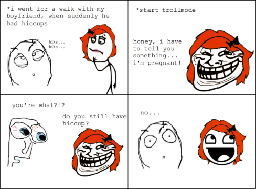 Troll Comics - Hiccup remedy