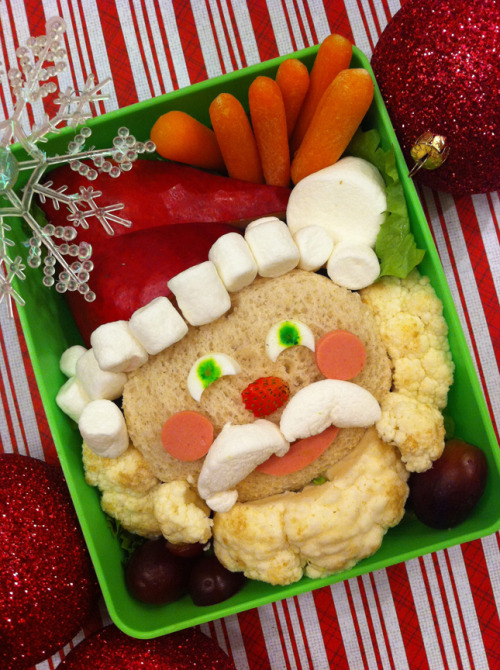 Bento Day 77<br /> Ho, ho, ho! Happy Hollidays! Have you been naughty or nice? =)