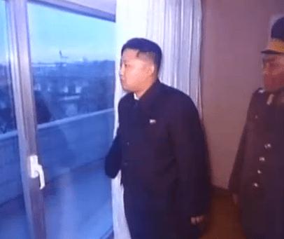 looking at a sliding door