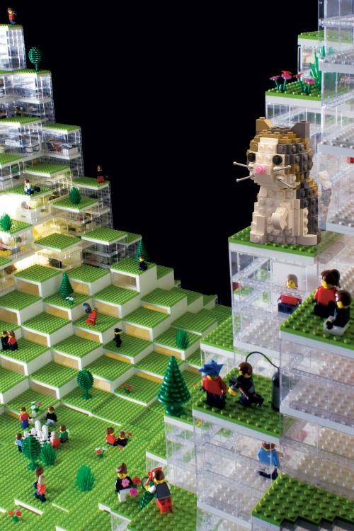BIG Lego Cat