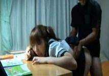 家庭教師は教え子のツインテール女子校生の身体をむちゃくちゃに犯して中出ししてもいいのですか?