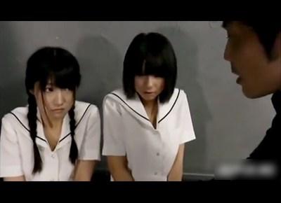 クスリの取引に巻き込まれた女子校生二人組がキメセクレ●プされちゃうwwww