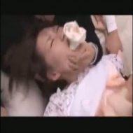 彼氏の前で鬼畜な教師たちに輪姦される彼女……泣き叫ぶ姿が悲惨です