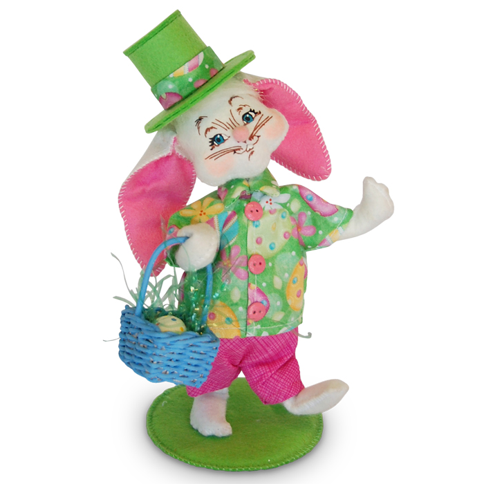 6in Easter Parade Boy Bunny Annalee Dolls
