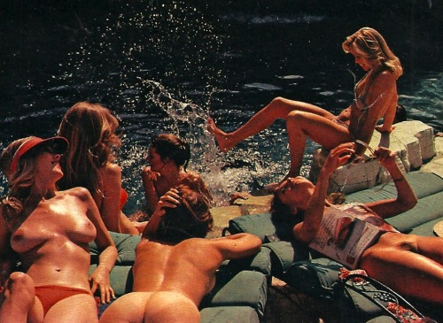 toooth:  Playmate House Party 1977 (via swimsuitissue)