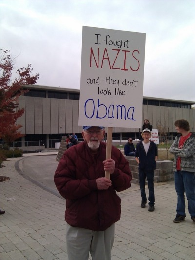 Sign at Rally to Restore Sanity