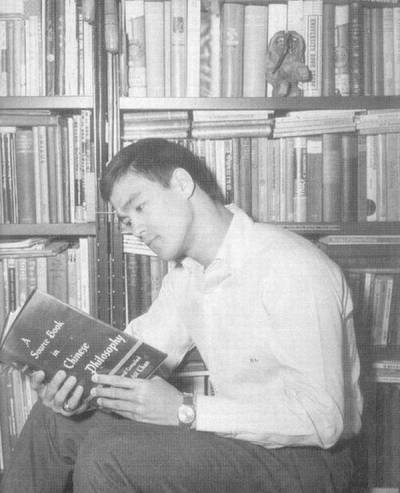 Bruce Lee Reading