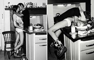 Sexo para parejas - sexo en la cocina