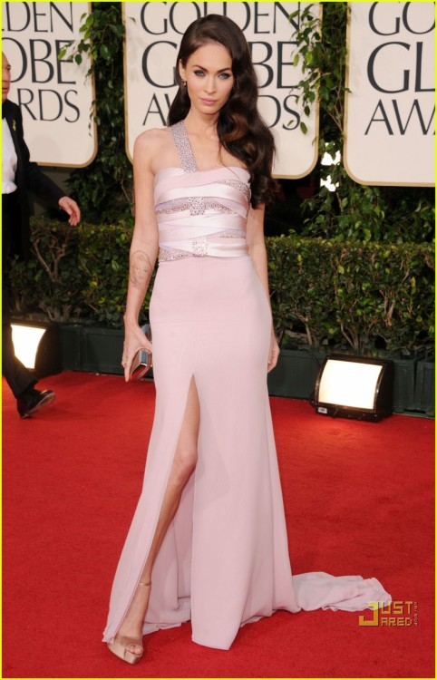 Megan Fox sure can't act, but she definitely can look pretty in a nice dress.
