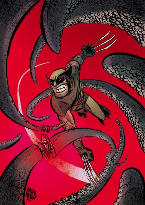 Wolverine by David Rubin